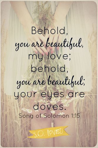 Song Of Songs 1 15 Believe Trust